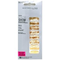 Beauté Femme Accessoires ongles Gemey Maybelline - Color show stickers Ongles Chic Miror - 016 Gold Flake Autres