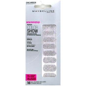 Beauté Femme Accessoires ongles Gemey Maybelline - Color show stickers Ongles Chic Miror - 020 Glass slippers Autres