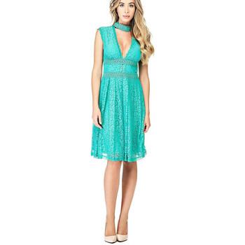 Vêtements Femme Robes Guess Robe Katherine Vert W82K08 25