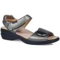 Chaussures Femme Sandales et Nu-pieds Calzamedi S  ELIGIA ARGENT