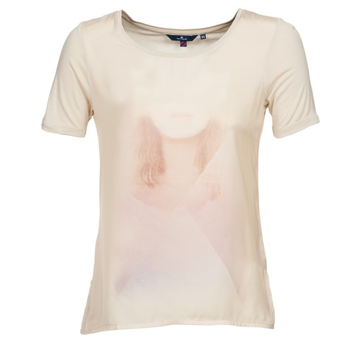 T-shirts & Polos Tom Tailor BENE Beige 350x350