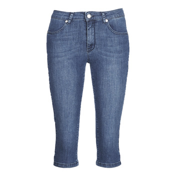 Vêtements Femme Pantacourts Yurban JATARA Bleu medium