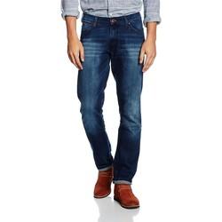 Vêtements Homme Jeans slim Wrangler Larston Blaze W18S8282T granatowy