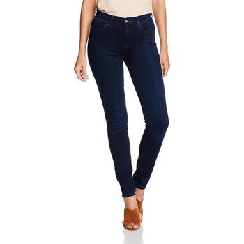 Vêtements Femme Jeans skinny Wrangler High Skinny W27HBV78Z granatowy