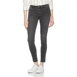 Vêtements Femme Jeans skinny Wrangler Skinny Ash W28KLX86O szary