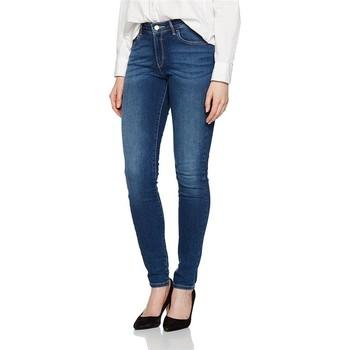 Vêtements Femme Jeans skinny Wrangler ® Skinny Authentic Blue 28KX785U niebieski