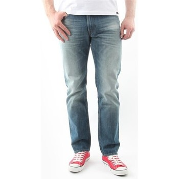 Vêtements Homme Jeans droit Lee Blake Worn Green L730DAUJ niebieski