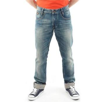 Vêtements Homme Jeans droit Guess Spodnie Męskie  22068D0EW1 LINI niebieski