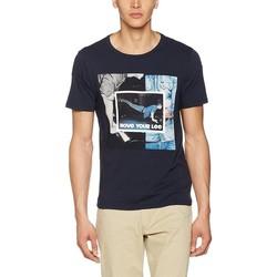 Vêtements Homme T-shirts manches courtes Producent Niezdefiniowany Lee® Photo Tee 60QEPS niebieski