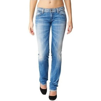 Vêtements Femme Jeans droit Teddy Smith PIN UP ST POWER Bleu