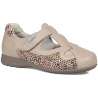 Chaussures Femme Ville basse Calzamedi été confortable BEIGE