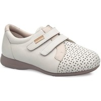 Chaussures Femme Ville basse Calzamedi DOUBLE CHAUSSURE CONFORTABLE BEIGE