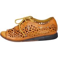 Chaussures Femme Sandales et Nu-pieds Moma BX962 jaune