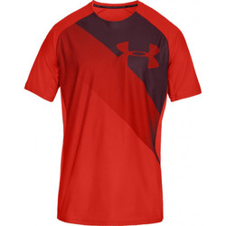 Vêtements Homme T-shirts manches courtes Under Armour Tee-shirt Under Rouge