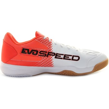 Chaussures Homme Baskets basses Puma Chaussures Handball Homme  Evospeed Indoor 5.5 Blanc rouge