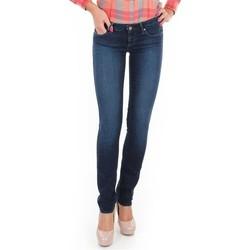 Vêtements Femme Jeans skinny Wrangler Spodnie  Molly Straight W26FX754R niebieski