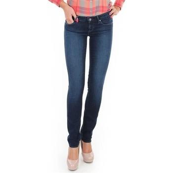 Vêtements Femme Jeans skinny Wrangler Jeans  Skyline W26FX754R niebieski