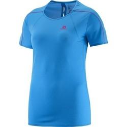Vêtements Femme T-shirts manches courtes Salomon Minim Evac Tee W 371146 niebieski