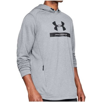 Vêtements Homme Sweats Under Armour Sweat rugby homme - MK1 Terry Graphic Hoodie - Gris
