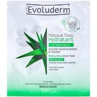 Beauté Femme Masques & gommages Evoluderm Masque Tissu Hydratant A l'Aloe Vera Autres
