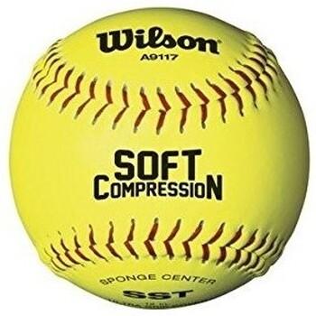 Accessoires Homme Accessoires sport Wilson balle de Softball Molle 594