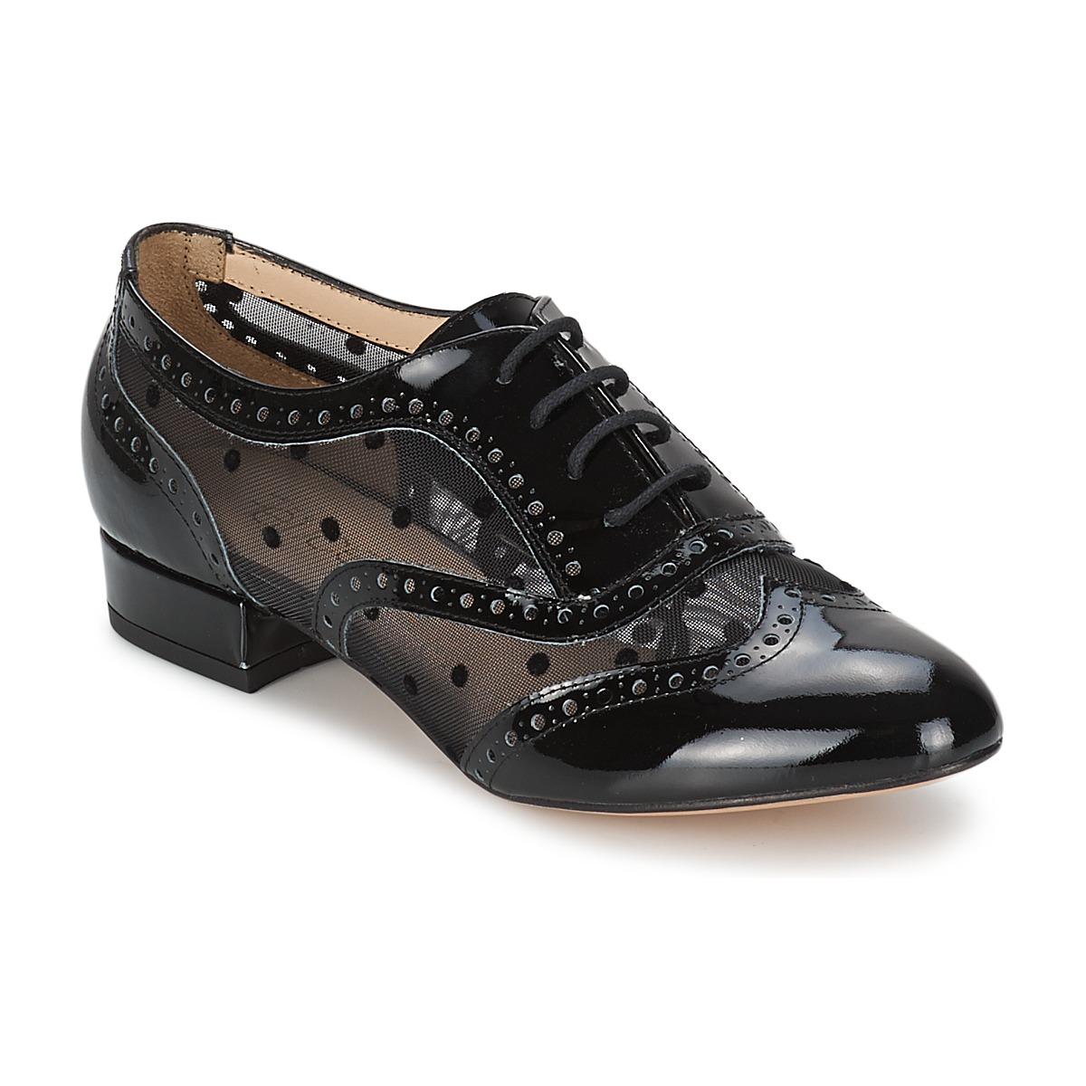 Fericelli ABIAJE Noir - Livraison Gratuite avec  - Chaussures Richelieu Femme