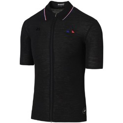 Vêtements Homme Polos manches courtes Le Coq Sportif Maillot Cycliste Homme  Cycling Merino Ss NOIR