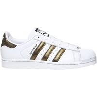 Chaussures Baskets basses adidas Originals Superstar W blanc