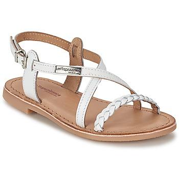 Chaussures Fille Sandales et Nu-pieds Les Tropéziennes par M Belarbi BALADIN Blanc