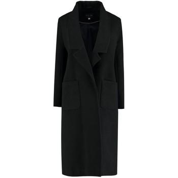 Vêtements Femme Manteaux De La Creme Long manteau d'hiver Black