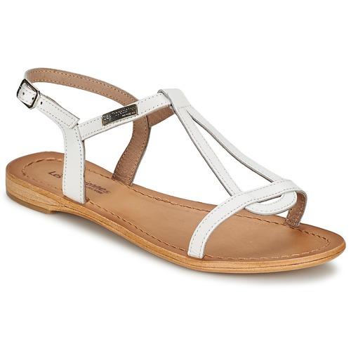 Les Tropéziennes par M Belarbi HAMESS Blanc - Chaussures Sandale Femme
