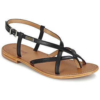 Sandale Les Tropéziennes par M Belarbi HIBOUX Noir 350x350