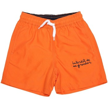 Vêtements Garçon Shorts / Bermudas Interdit De Me Gronder Short de Bain Player Bleu