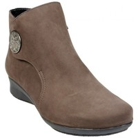 Chaussures Femme Bottines Hirica Boots Renaud Taupe Fonce Beige
