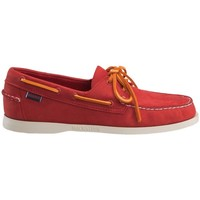 Chaussures Homme Chaussures bateau Sebago Docksides Rouge