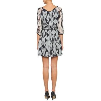 Courtes One Vêtements GrisBlanc Step Rosasite Robes Femme rEoeCQBdxW