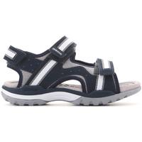 Chaussures Enfant Sandales et Nu-pieds Geox J Borealis J820RB 01050 C0661 granatowy, szary, biały