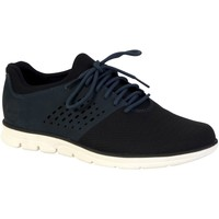 Chaussures Homme Baskets basses Timberland Chaussure  Bradstret Fabric/Leather Oxford Bleu