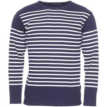 Vêtements Homme T-shirts manches longues Armor Lux - tee-shirt BLEU