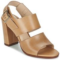 Chaussures Femme Sandales et Nu-pieds Dune CUPPED BLOCK HEEL SANDAL Beige