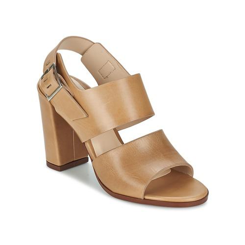 Chaussures Femme Sandales et Nu-pieds Dune London CUPPED BLOCK HEEL SANDAL Beige