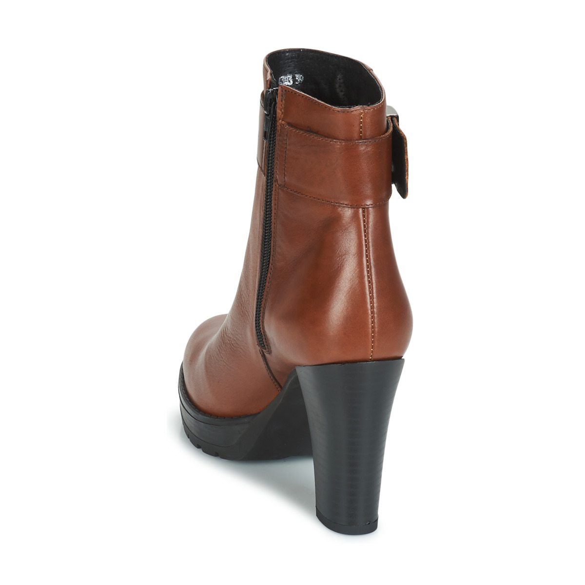 Betty London Jarambole Marron - Livraison Gratuite Chaussures Bottine Femme 79,99 €