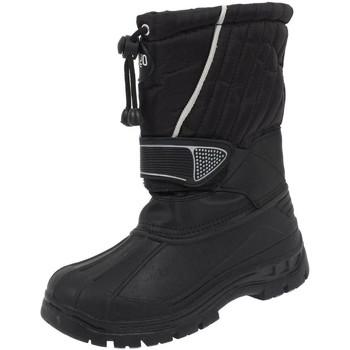 Chaussures Garçon Bottes de neige Alpes Vertigo Booster noir apres-ski jr Noir