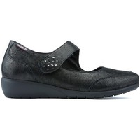 Chaussures Femme Ballerines / babies Mephisto JANIS LETINAS BLACK