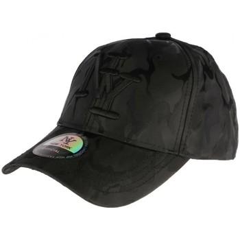 Accessoires textile Homme Casquettes Hip Hop Honour Casquette baseball militaire noire tendance Kaptain Noir