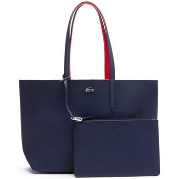 Sacs Femme Cabas / Sacs shopping Lacoste Sac  reversible porté épaule ref_cem41539 B Rouge