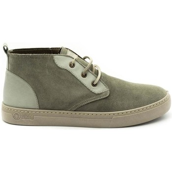 Chaussures Homme Boots Natural World 6752 Gris