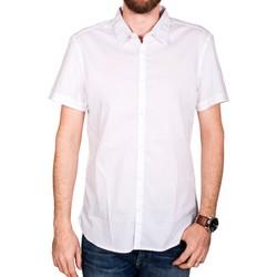 Vêtements Femme Chemises / Chemisiers Teddy Smith CLOVIS MC Blanc