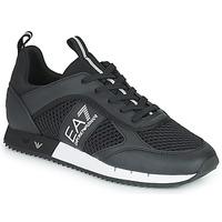 Chaussures Baskets basses Emporio Armani EA7 LACES U Noir