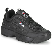 Chaussures Homme Baskets basses Fila DISRUPTOR LOW Noir